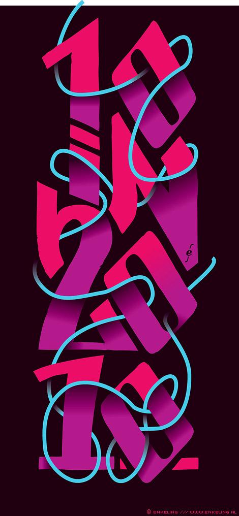 10 in 2010, discarded, concept, Zwaan, typografie, Enkeling, 2011