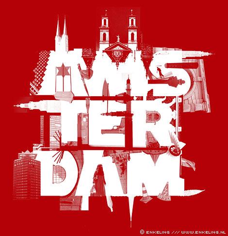 typografie, logo, CitID, Amsterdam, illustratie, Enkeling, 2010