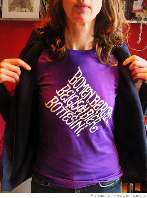 t-shirt, shirt, typography, bomen, bergen, belgisch bier, bottesini, birthday, Enkeling, 2010