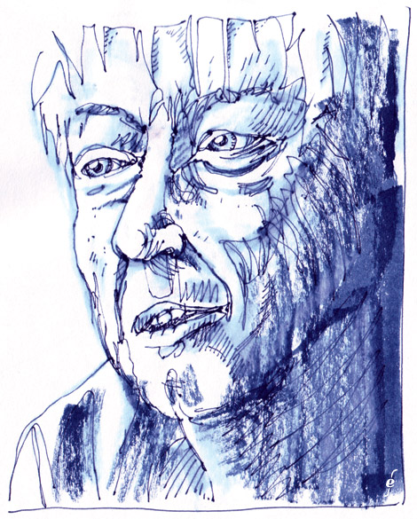 portrait of cartoonist Callahan