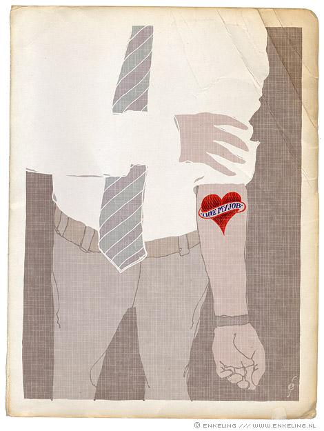 commitment, tattoo, heart, Enkeling, 2010