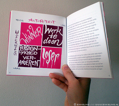 D'r op en d'r over, the food agency, Don Vink, illustrations, typografie, letters, 2012
