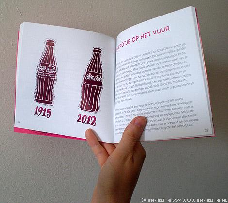 D'r op en d'r over, the food agency, Don Vink, illustrations, typografie, letters, 2012