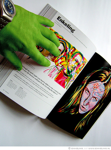 Illustration Now! 3, book, Taschen, Enkeling, illustrators, 2009