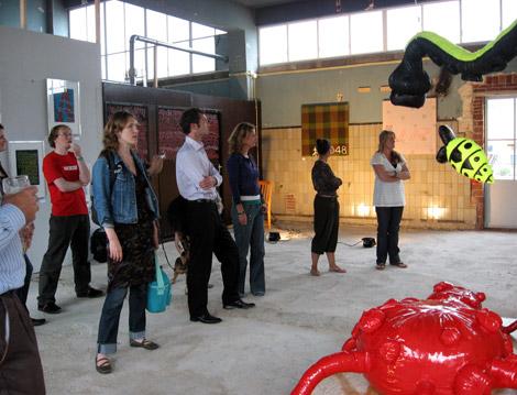 opening Enkeling expositie Guerilla Store