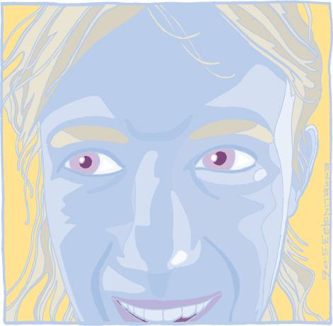 Margje Muusse, portret, famke, boef, melancholie, verdriet, Enkeling, 2006
