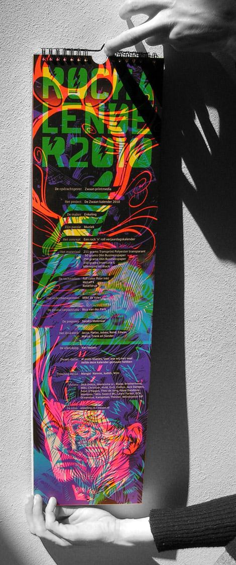 frontispiece, voorkant, Zwaan kalender 2010, Enkeling, 2009