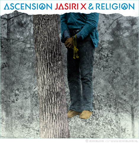 Jasiri X, Rel!g!on, Ascension, cover, design, where's, my, money, lettering, concious, hip-hop, photo, Enkeling, 2012