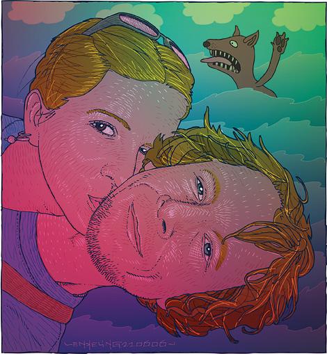 portrait of Maartje Schuurmans en Mark