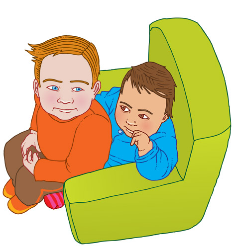 illustratie voor Kop of Munt