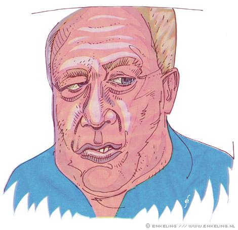 coach, Jol, portrait, Enkeling, 2009