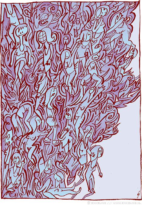 meisjes, girls, hidden, swirls, art, playful, Enkeling, 2012