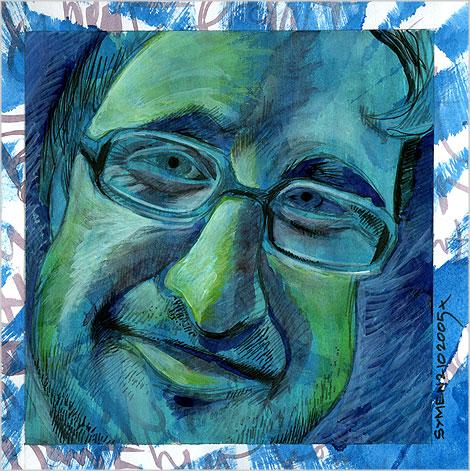 Reinier van Delden, portrait, 2005