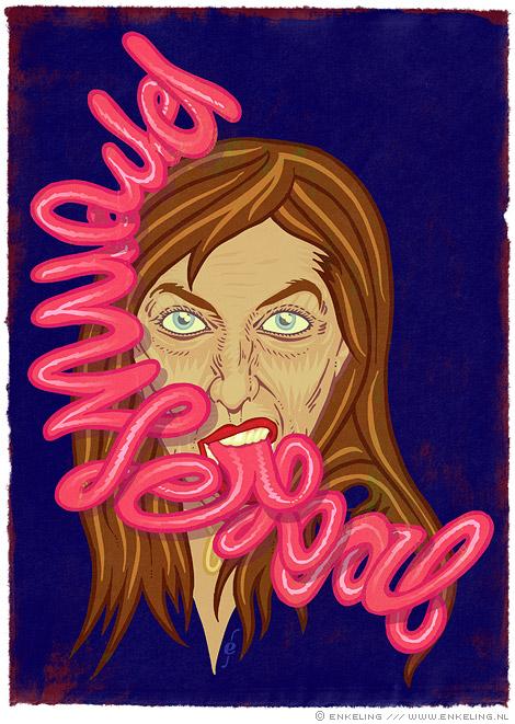 My Promise Is Real, gespleten tong, bla bla bla, Enkeling, 2010