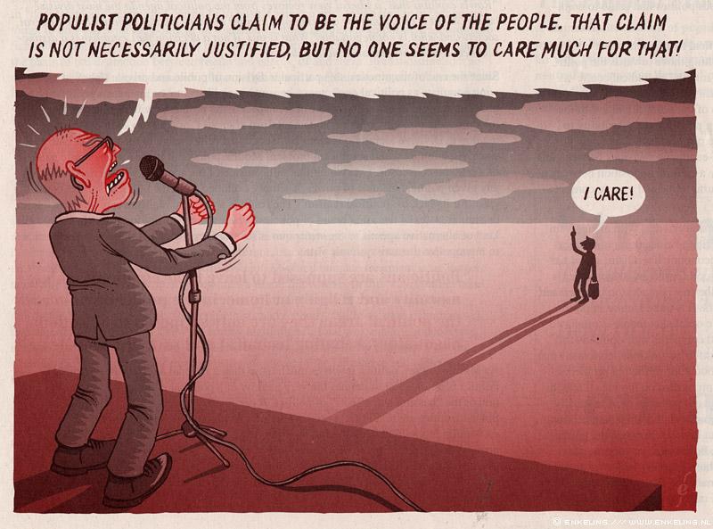 Noordkaap Times, Populism, cartoon, Marleen Oud, Lennard Dost, Dordrecht, art