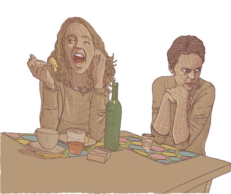 Parool Illustratie vriendschap geld