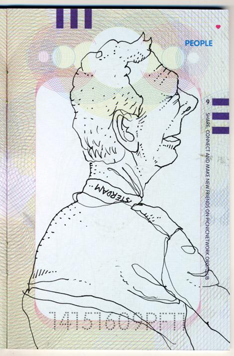 PICNIC, Amsterdam, drawings, sketches, Iphones, Enkeling, 2011