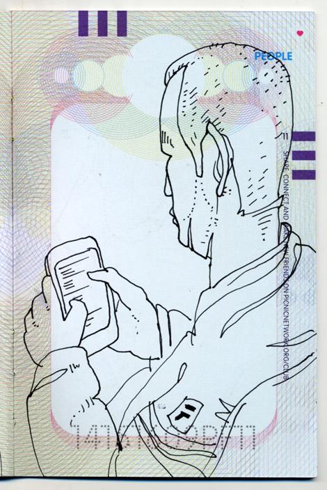 PICNIC, Amsterdam, drawings, sketches, laptops, Enkeling, 2011