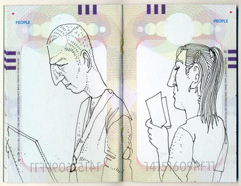 PICNIC, Amsterdam, drawings, sketches, glasses, Enkeling, 2011