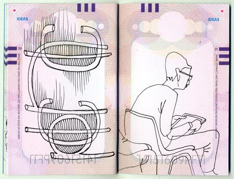 PICNIC, Amsterdam, drawings, sketches, attendees, Enkeling, 2011