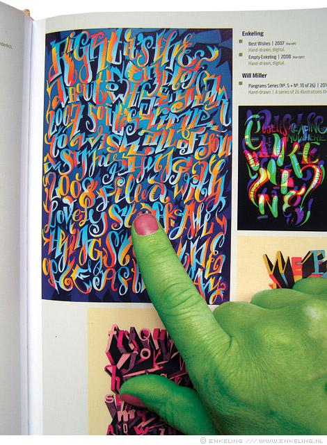 Playful Type 2, illustratie, illustration, typography, Gestalten, experimental, Enkeling, 2010
