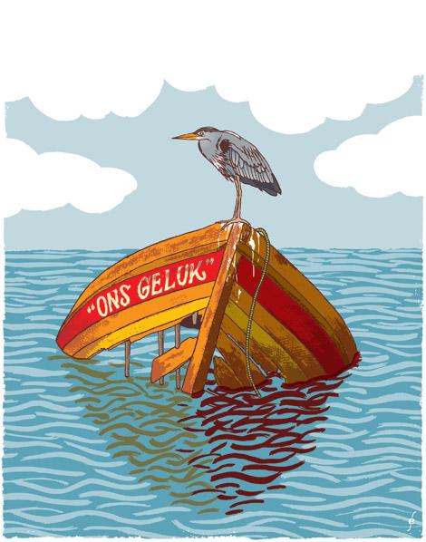 bootjesleed, illustratie voor PS van de Week
