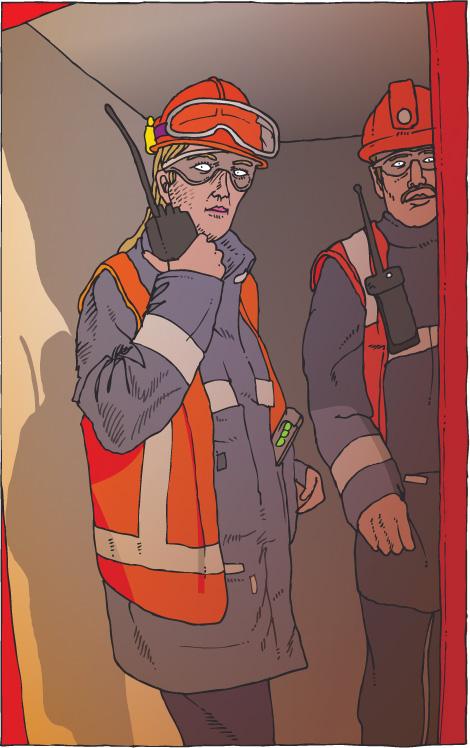ehbo illustratie voor Shell Sociaal Jaarverslag 2006