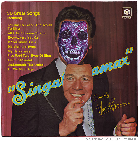 Max Bygraves, for the love of god, skul, Damien Hirst, album, record, cover