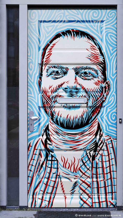 front door, voordeur, tnt, artbox, arno bosma, portret, dimitri van veenen, Enkeling, 2011