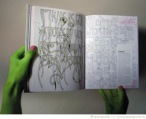 Typography Sketches, Thames, Hudson, Steven, Keller, Lita, Talarico, typografie, book, boek, Enkeling, 2011