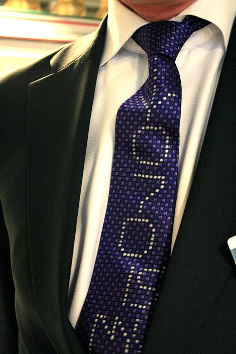 tie, painting, UNIT 070, Enkeling, 2009