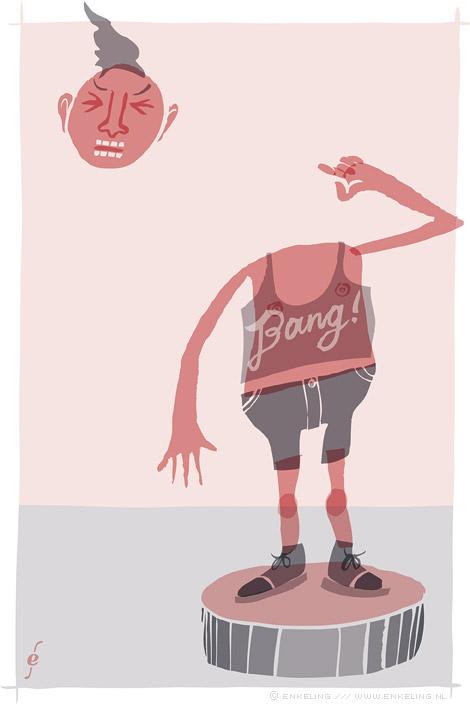 """bang, gun, invisible, headshot, drawing, layers, bwah, Enkeling, 2014""""/></p>   </div>    <div class="""